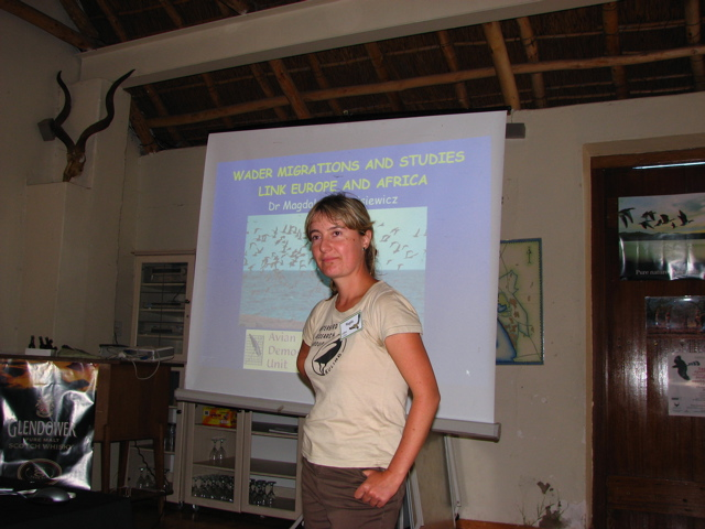 Magda on Wader Migrations