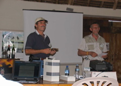Raptor presentation by Gerhard Verdoorn on Sunday
